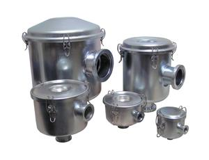 ISO Flange Inlet Vacuum Filters for laboratory vacuum pumps