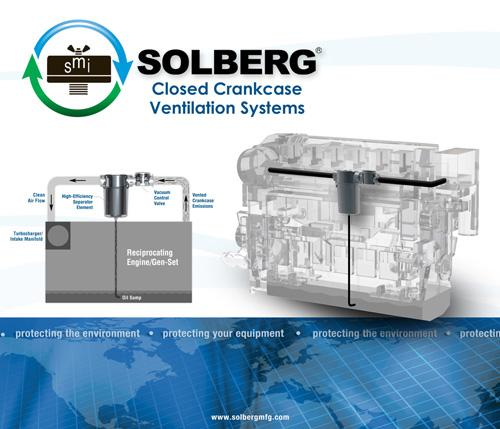 Example of Solberg's CCV Series on a Reciprocating Engine