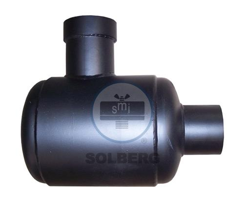Snubber Discharge Silencer for Vacuum Apps